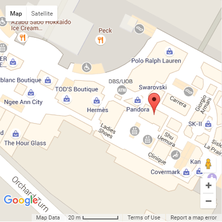 Travelust location on Google Maps