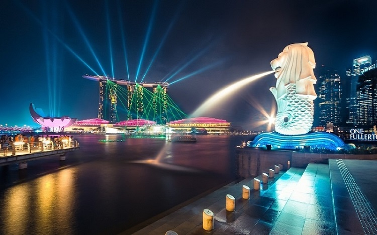 picture of merlion statue